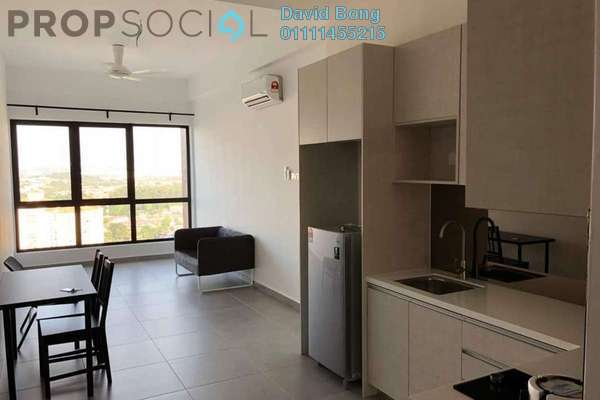 For Rent Condominium at D'Sands Residence, Old Klang Road Freehold Fully Furnished 2R/2B 2k