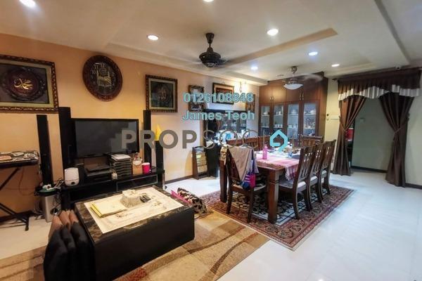 For Sale Terrace at Taman Sri Muda, Shah Alam Freehold Semi Furnished 5R/3B 530k