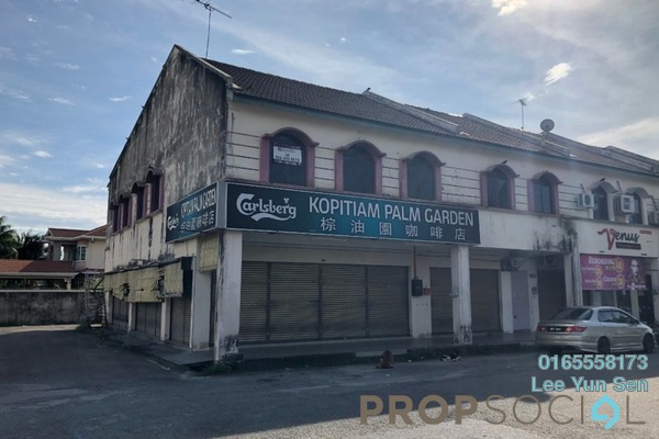 For Rent Shop at Taman Perpaduan Ria, Ipoh Freehold Unfurnished 0R/2B 1.4k