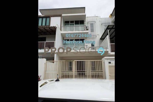 For Sale Terrace at Taman Seri Alam, Sungai Buloh Freehold Unfurnished 4R/3B 538k