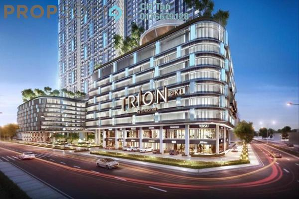 For Sale Serviced Residence at Trion @ KL, Kuala Lumpur Freehold Fully Furnished 2R/1B 490k