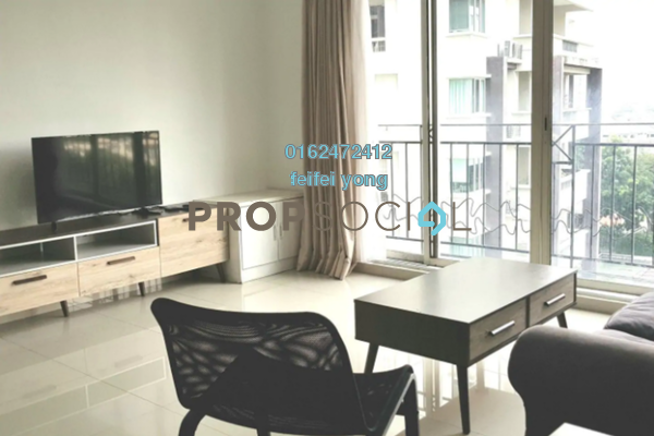 For Rent Condominium at Vista Kiara, Mont Kiara Freehold Fully Furnished 3R/3B 3k
