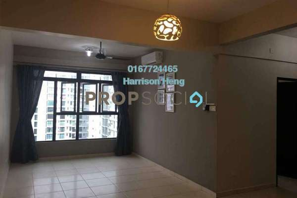 For Sale Serviced Residence at The Garden Residences, Skudai Leasehold Semi Furnished 3R/2B 440k