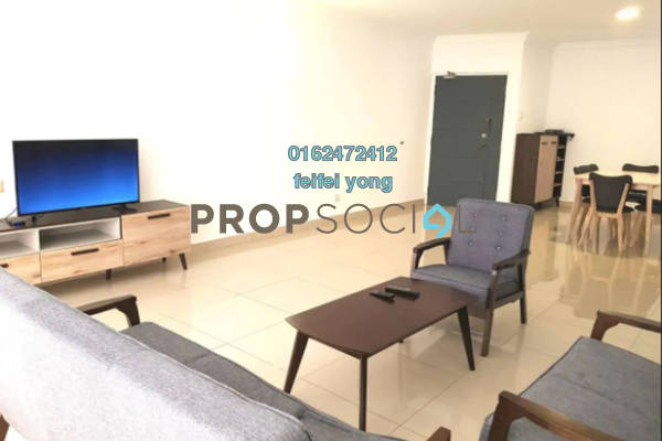 For Sale Condominium at Vista Kiara, Mont Kiara Freehold Fully Furnished 3R/3B 660k