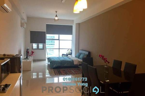 For Sale SoHo/Studio at First Subang, Subang Jaya Freehold Fully Furnished 0R/1B 425k