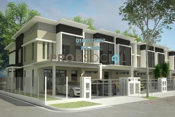 For Sale Superlink at Taman Klang Ria, Klang Freehold Unfurnished 4R/4B 580k