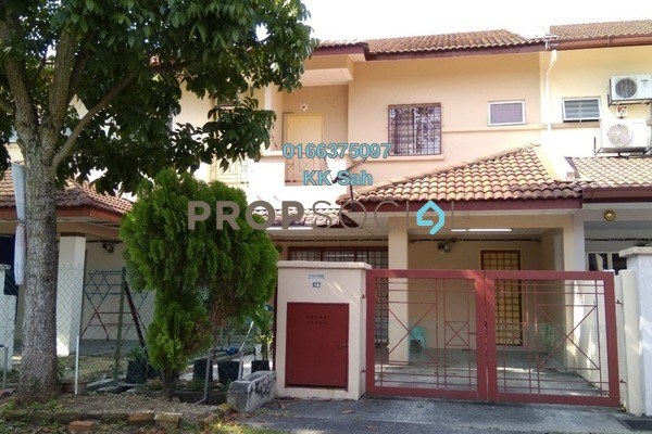 For Sale Terrace at Section 1, Bandar Mahkota Cheras Freehold Semi Furnished 4R/3B 495k