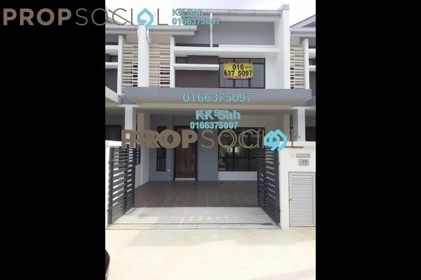 For Rent Link at M Residence 2, Rawang Freehold Semi Furnished 4R/3B 1.1k