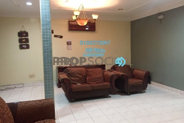 For Sale Terrace at Taman Maznah, Klang Freehold Semi Furnished 3R/2B 295k