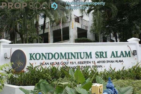 For Sale Condominium at Sri Alam, Shah Alam Leasehold Semi Furnished 3R/2B 399k
