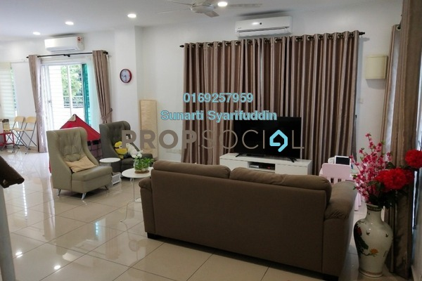 For Sale Terrace at Taman Ehsan Jaya, Port Klang Leasehold Fully Furnished 4R/3B 1.2m