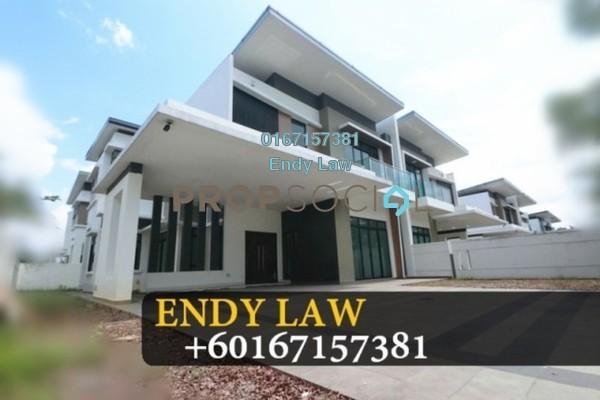 For Sale Semi-Detached at Nusa Duta, Iskandar Puteri (Nusajaya) Freehold Unfurnished 6R/6B 2.11m