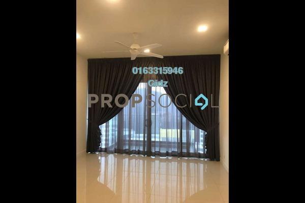 For Rent Condominium at Reflection Residences, Mutiara Damansara Freehold Semi Furnished 3R/2B 3.4k