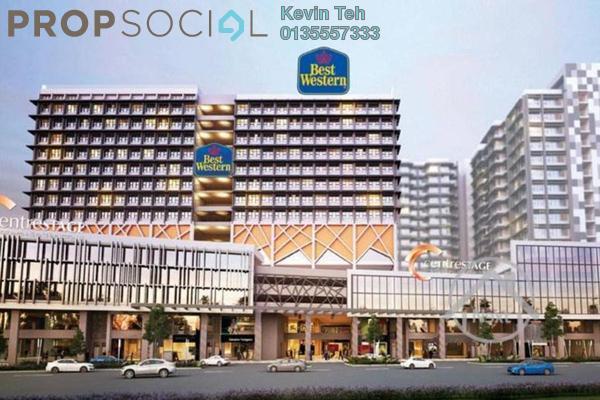 For Rent Serviced Residence at Centrestage, Petaling Jaya Freehold Semi Furnished 1R/1B 1.1k