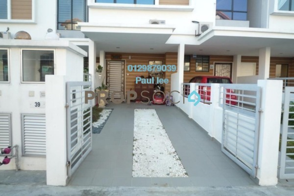 For Sale Townhouse at Taman Tasik Prima, Puchong Freehold Semi Furnished 5R/3B 795k