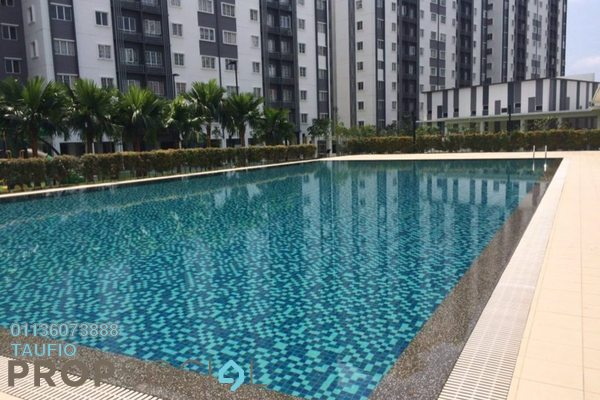 For Sale Apartment at Seri Intan Apartment, Setia Alam Freehold Unfurnished 3R/2B 283k
