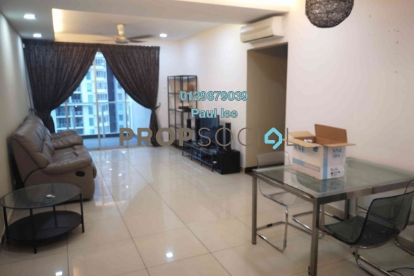For Rent Condominium at Zen Residence, Puchong Freehold Fully Furnished 3R/2B 1.5k