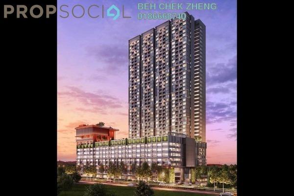For Sale Condominium at The Holmes 2, Bandar Tun Razak Leasehold Semi Furnished 3R/3B 390k