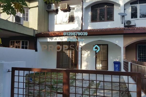 For Sale Terrace at Taman Alam Megah, Shah Alam Freehold Semi Furnished 3R/2B 428k