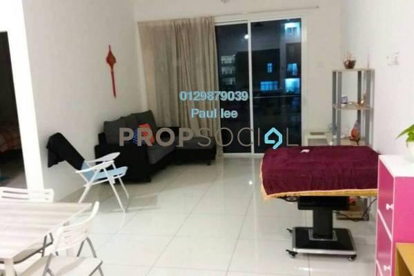 For Sale Condominium at Skypod, Bandar Puchong Jaya Freehold Semi Furnished 2R/2B 550k