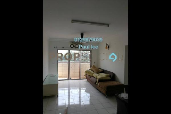 For Sale Apartment at Saraka Apartment, Pusat Bandar Puchong Freehold Semi Furnished 3R/2B 398k