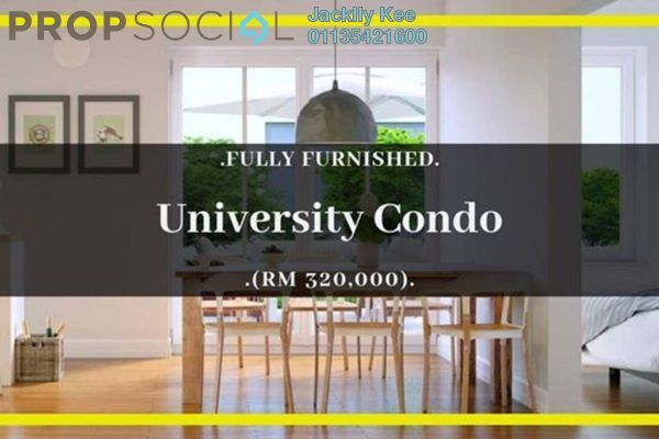 For Sale Condominium at Midlands City, Semenyih Freehold Fully Furnished 2R/2B 251k