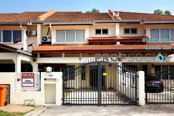 For Sale Terrace at Seri Utama, Kota Damansara Freehold Semi Furnished 3R/3B 900k