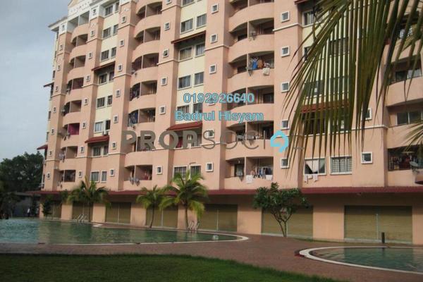 For Sale Apartment at Perdana Villa Apartment, Klang Freehold Semi Furnished 3R/2B 260k