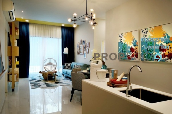 For Sale Condominium at Alstonia Hilltop Homes, Bukit Rahman Putra Freehold Semi Furnished 3R/2B 595k