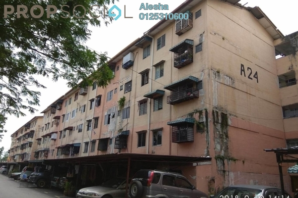 For Sale Apartment at Taman Puchong Permai, Puchong Freehold Unfurnished 0R/0B 100k