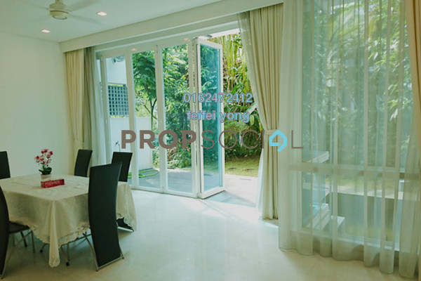For Rent Villa at Kiara 9, Mont Kiara Freehold Semi Furnished 5R/5B 12.5k