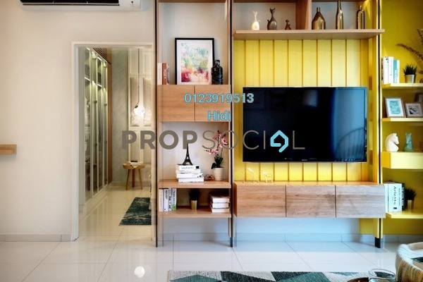 For Sale Condominium at Alstonia Hilltop Homes, Bukit Rahman Putra Freehold Semi Furnished 3R/2B 575k