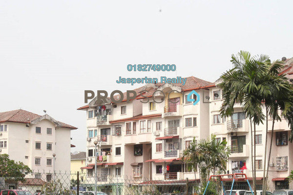 For Rent Apartment at Kenari Court, Pandan Indah Freehold Unfurnished 4R/2B 1.25k