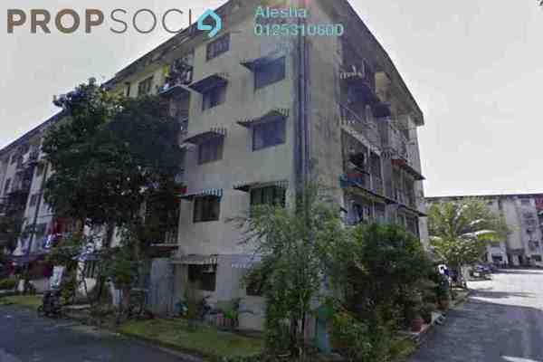 For Sale Apartment at Taman Sri Muda, Shah Alam Freehold Unfurnished 0R/0B 100k