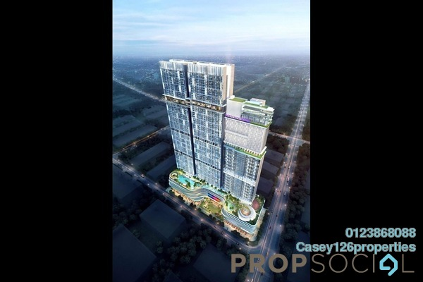 For Sale Serviced Residence at Trion @ KL, Kuala Lumpur Freehold Semi Furnished 2R/1B 480k