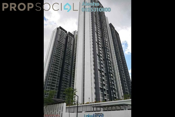 For Sale Condominium at LakeFront Residence, Cyberjaya Freehold Unfurnished 0R/0B 470k