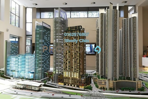 For Rent Office at Strata Office Suites @ KL Eco City, Mid Valley City Freehold Unfurnished 0R/0B 3.2k