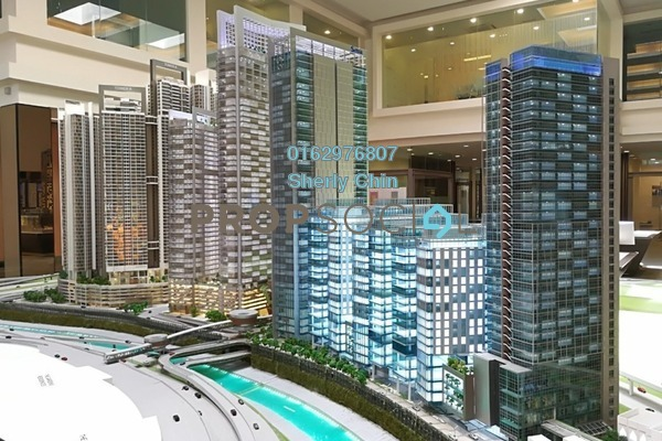 For Sale Office at Strata Office Suites @ KL Eco City, Mid Valley City Freehold Unfurnished 0R/0B 1.1m