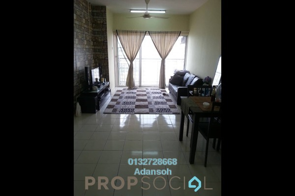 For Sale Condominium at Plaza Medan Putra, Bandar Menjalara Freehold Unfurnished 3R/2B 299k