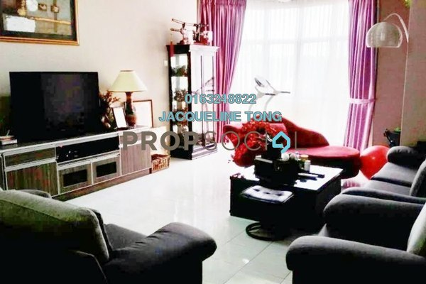 For Sale Condominium at Flora Green, Bandar Sungai Long Freehold Semi Furnished 3R/2B 860k