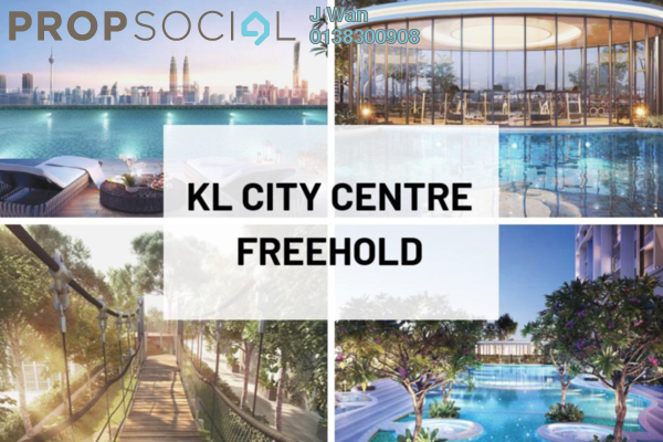 For Sale Serviced Residence at Trion @ KL, Kuala Lumpur Freehold Semi Furnished 2R/1B 591k