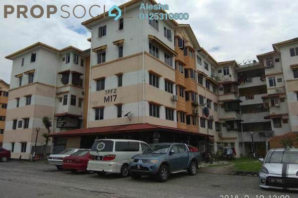 For Sale Apartment at Taman Perkasa, Hulu Langat Freehold Unfurnished 0R/0B 160k