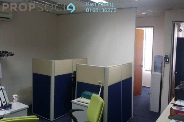 For Rent Office at Kelana Square, Kelana Jaya Freehold Fully Furnished 4R/2B 1.8k