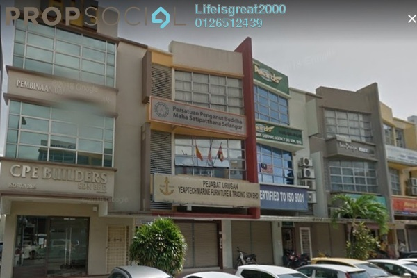For Sale Shop at Bayu Tinggi Commercial Centre, Klang Freehold Semi Furnished 0R/0B 1.38m