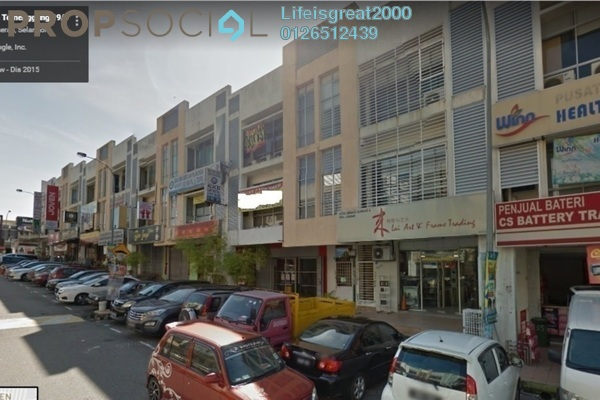 For Sale Shop at Section 6, Bandar Mahkota Cheras Freehold Semi Furnished 0R/0B 1.82m