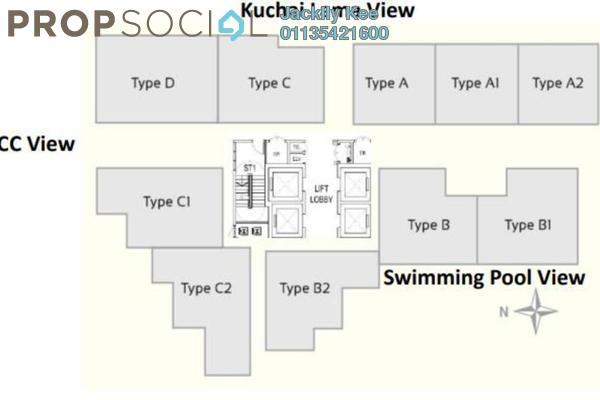 For Sale Condominium at 216 Residences, Kuchai Lama Freehold Unfurnished 2R/2B 300k