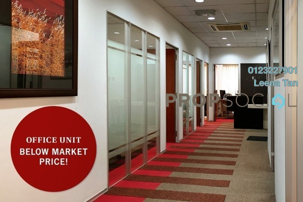 For Sale Office at Merchant Square, Tropicana Freehold Fully Furnished 7R/2B 550k