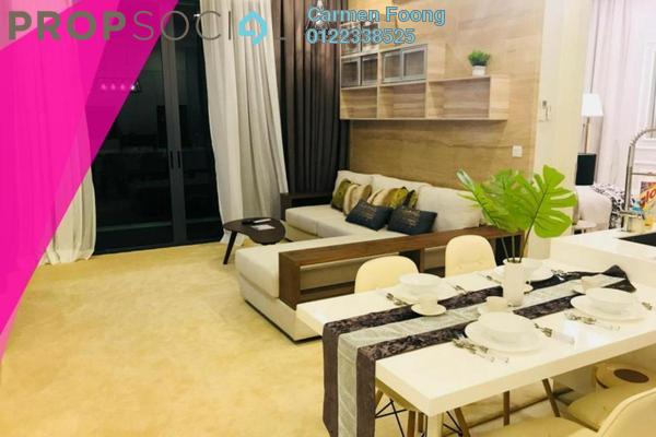 For Rent Condominium at Vogue Suites One @ KL Eco City, Mid Valley City Freehold Fully Furnished 2R/1B 2.95k