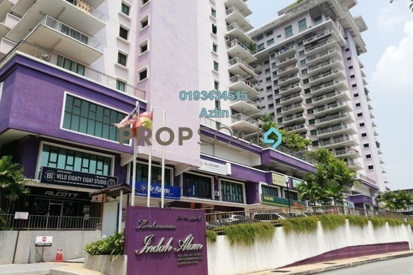 For Sale Condominium at Indah Alam, Shah Alam Freehold Fully Furnished 4R/2B 660k