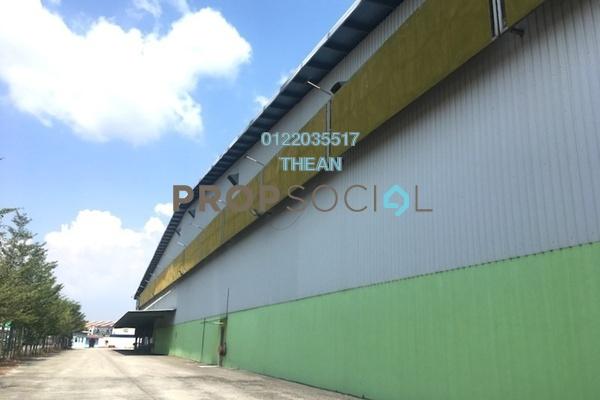 For Rent Factory at Pandamaran Industrial Estate, Port Klang Freehold Unfurnished 0R/1B 24k